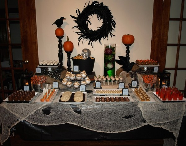 Mesas para Halloween La Muffinerie