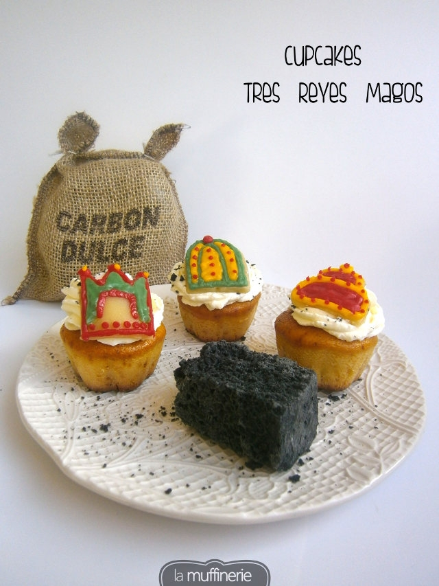 Cupcakes Tres Reyes Magos_ La Muffinerie.com