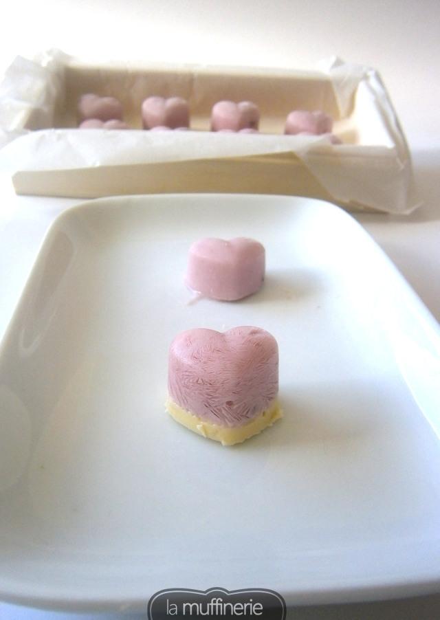 Bombones de yogur y chocolate blanco-Viernes Light- LaMuffinerie.com