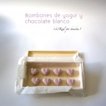 Bombones de yogur y chocolate blanco-Viernes Light- LaMuffinerie.com