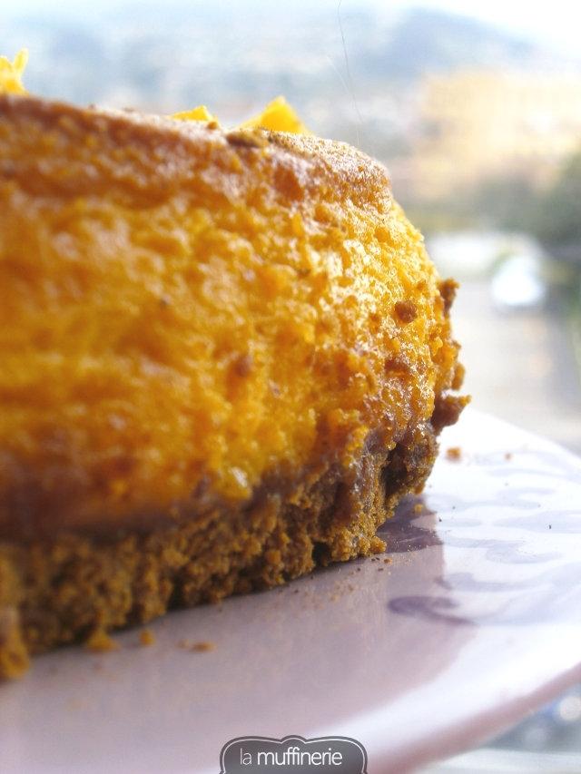 Cheesecake de calabaza-La Muffinerie.com