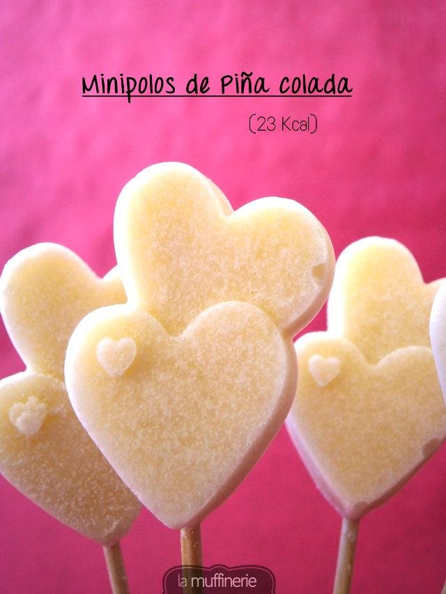 Minipolos de Piña Colada- La Muffinerie.com