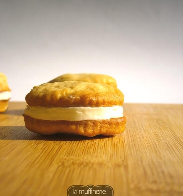 Galletas rellenas sabor limón - La Muffinerie.com