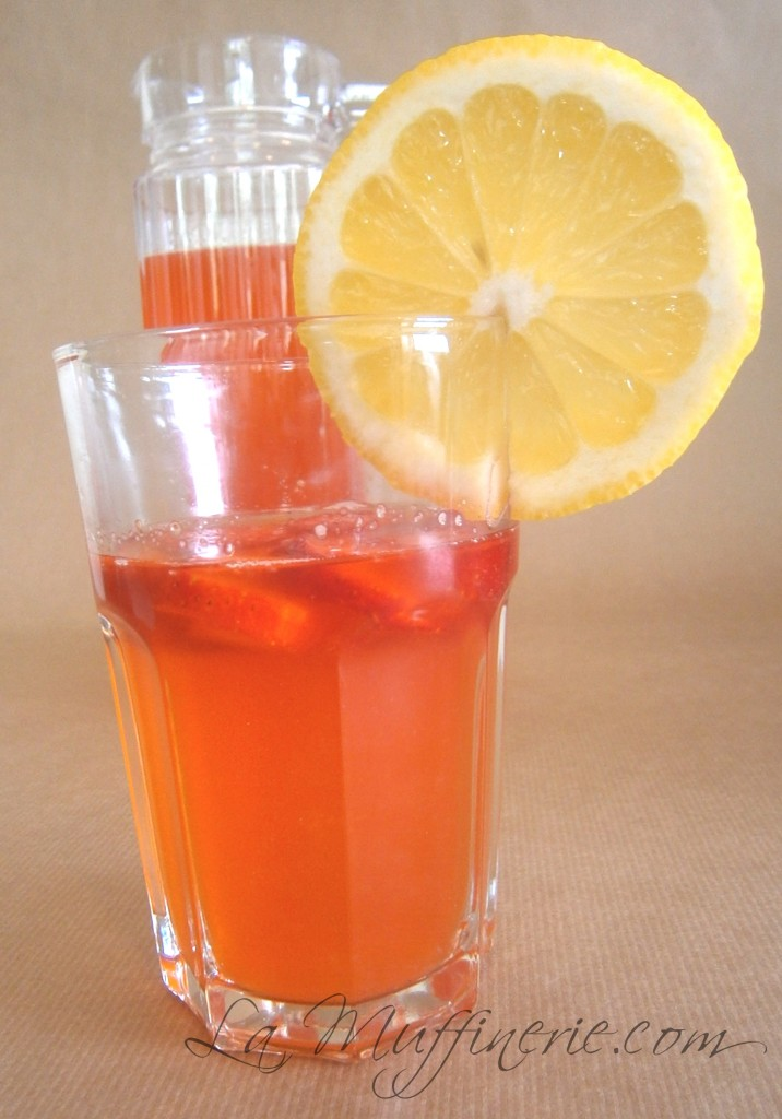 Limonada con fresas_LaMuffinerie.com