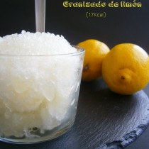 Granizado de limón light - LaMuffinerie.com