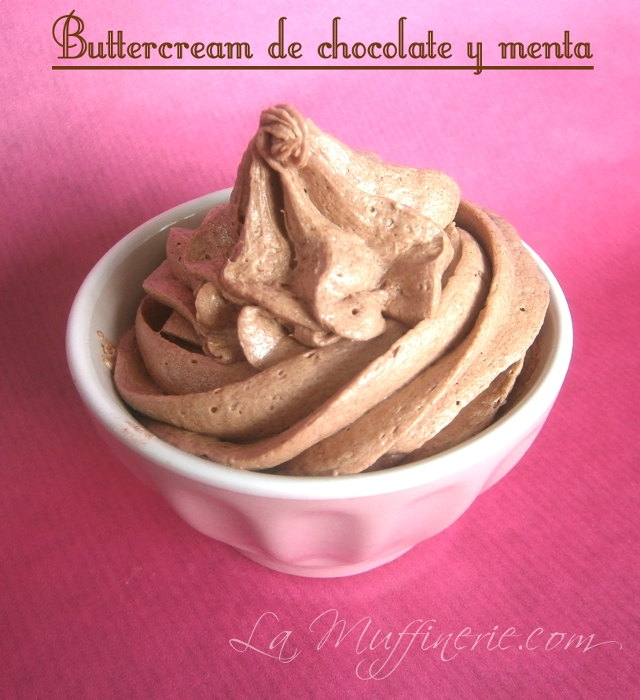 Buttercream ChocolateMenta LaMuffinerie-com
