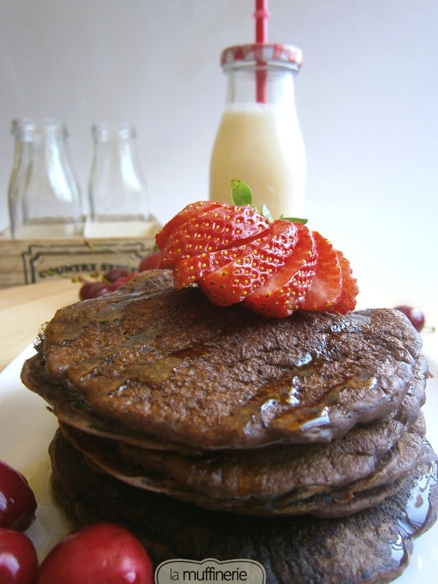 Hotcakes Chocolate Light-La Muffinerie.com