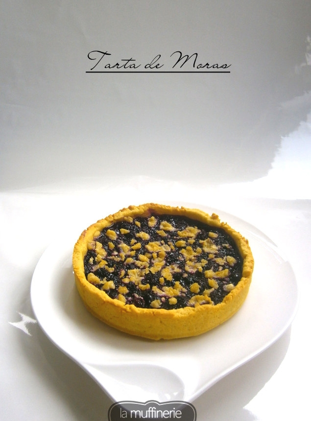 Tarta de Moras-La Muffinerie.com