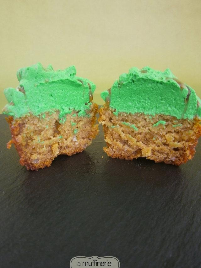Cupcakes castañas. Día de Muertos. LaMuffinerie.com