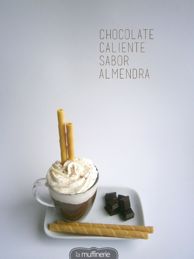 Chocolate con sabor a almendra-La Muffinerie.com